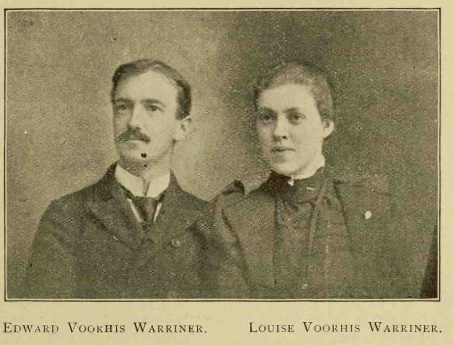 Edward and Louise Warriner, genealogy, history, ancestry
