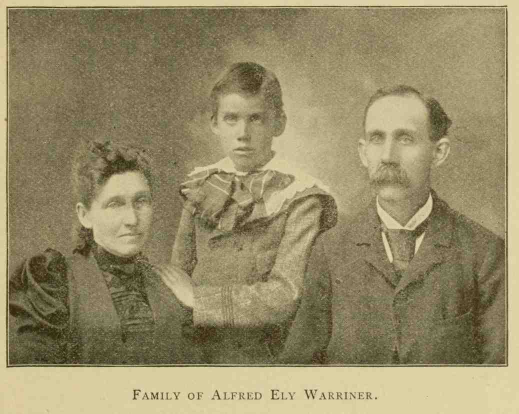 Family of Ely Warriner, genealogy, history, ancestry