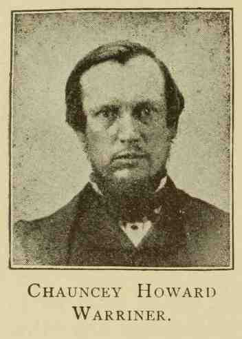 Chauncey Howard Warriner, genealogy, history, ancestry