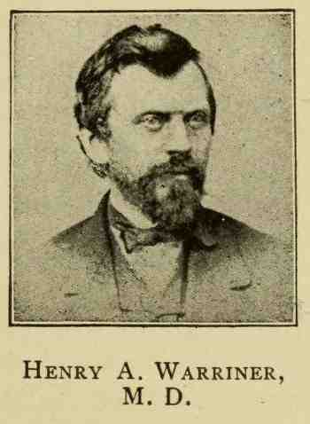 Henry A Warriner, genealogy, history, ancestry