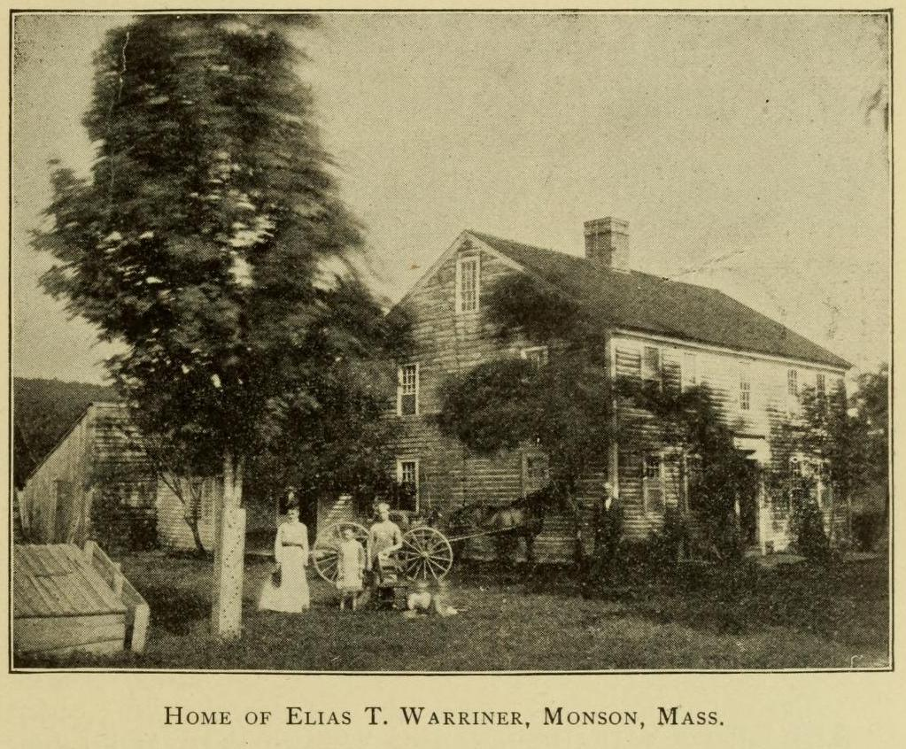 Home of Elias T Warriner, genealogy, history, ancestry