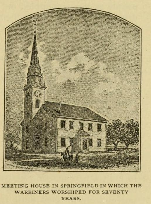 Meeting House in Springfield, genealogy, history, ancestry