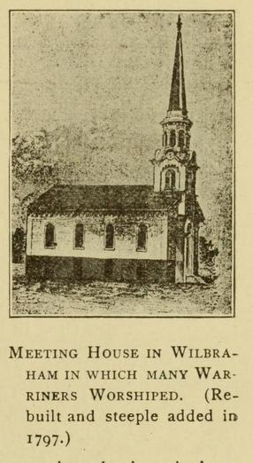 Meeting House in Wilbraham, genealogy, history, ancestry